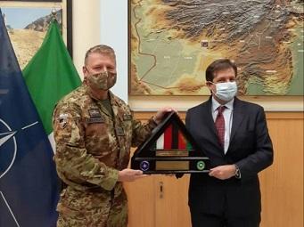 Missione Afghanistan per l'Ambasciatore Talò