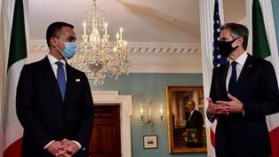 Italia – Usa: Di Maio incontra il Segretario di Stato Blinken