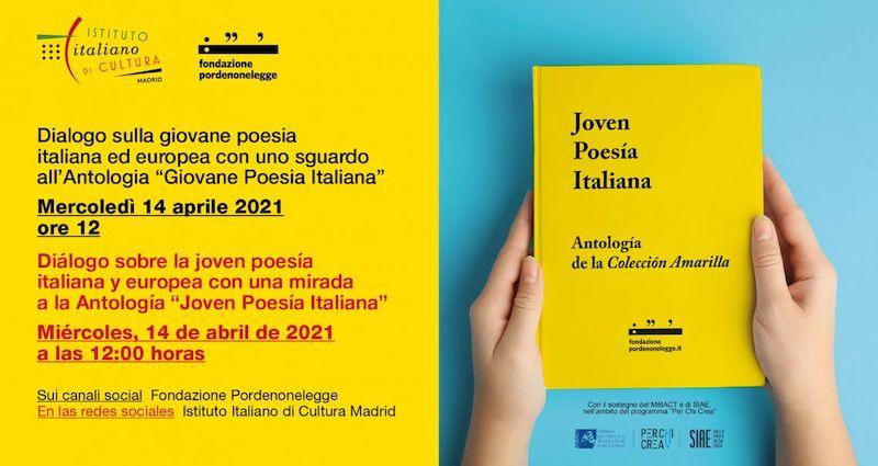 Giunge a Madrid il dialogo sulla giovane poesia italiana di Pordenonelegge