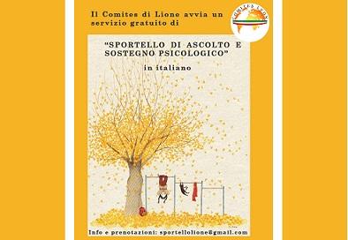 Lione: il Comites apre uno sportello di ascolto psicologico gratuito in italiano