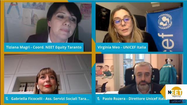 """UNICEF Italia: l'evento """"Non siamo in fuorigioco!"""" chiude il progetto """"NEET Equity"""""""