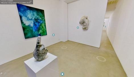 RHIZOME: Riapertura e tour virtuale della mostra collettiva