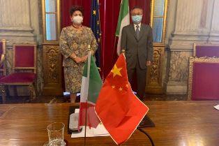 ITALIA – CINA: BELLANOVA INCONTRA L'AMBASCIATORE LI JUNHUA