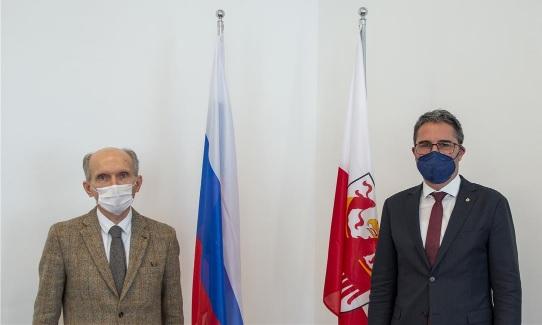 Bolzano: Kompatscher incontra il Console generale russo Shtodin
