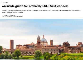 """Lombardia: gli 11 siti Unesco protagonisti sul """"National Geographic"""""""