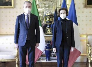 Il Ministro Guerini a Parigi: l'incontro con la collega Parly