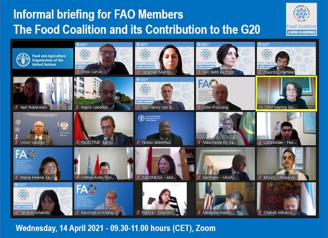 Il vice ministro Sereni alla FAO: il contributo della Food Coalition in ambito G20