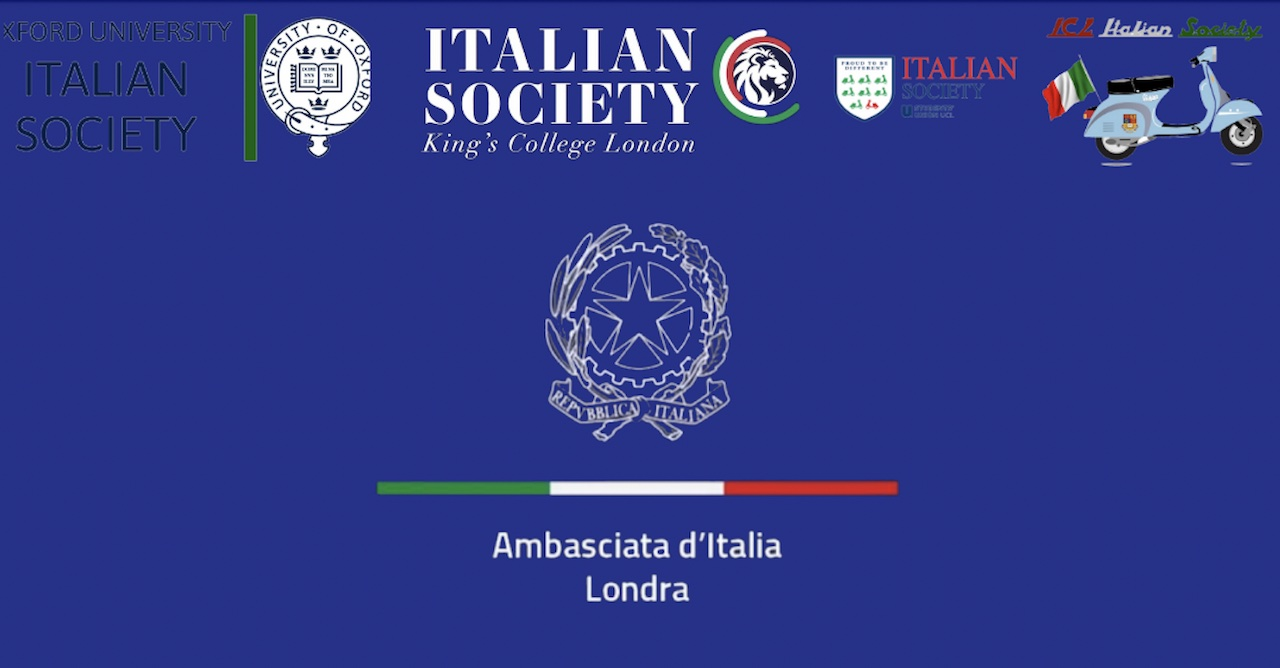 Incontro virtuale tra l'ambasciatore Trombetta e gli studenti italiani presso le università nel Regno Unito