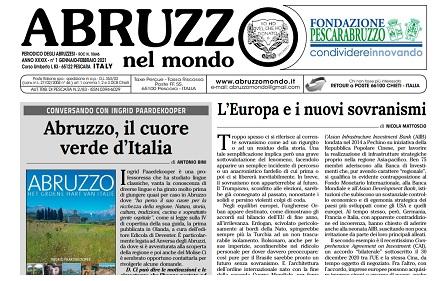 Abruzzo nel Mondo: pubblicato il numero di gennaio-febbraio