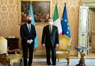 Rifugiati: Grandi (Unhcr) incontra Draghi e Lamorgese