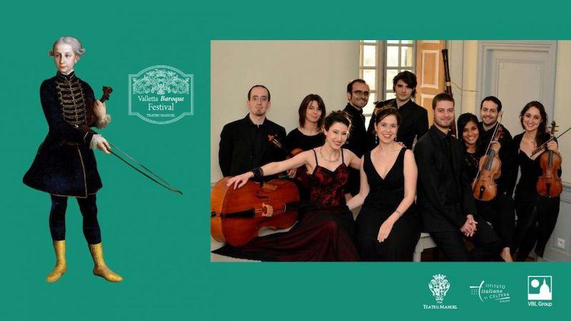 L'Italia al Valletta International Baroque Festival di Malta