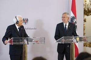 Italia – Austria: colloquio telefonico tra Mattarella e Van der Bellen
