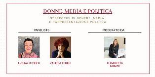"""Stereotipi di genere, media e politica: da San Francisco nuovo appuntamento con """"rete rosa"""""""
