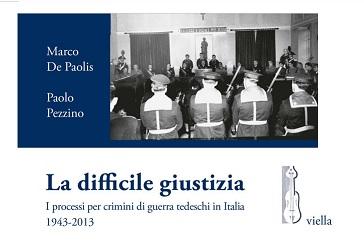 I PROCESSI PER I CRIMINI DI GUERRA TEDESCHI IN ITALIA: CONFERENZA ALL'IIC DI AMBURGO