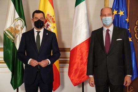 Spagna: l'ambasciatore Guariglia in missione in Andalusia