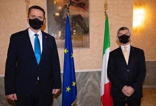 ITALIA – SLOVENIA: SCALFAROTTO INCONTRA ZORČIČ