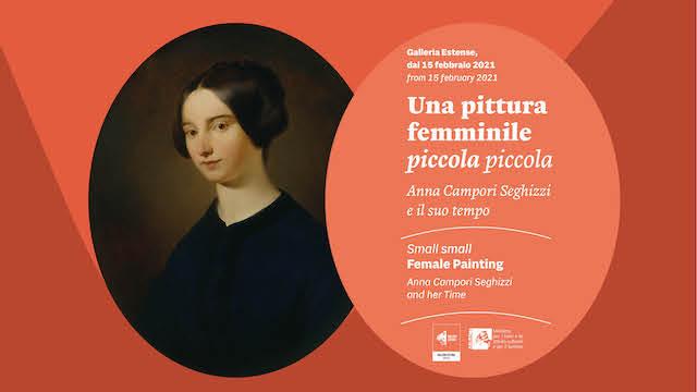 """""""Una pittura femminile piccola piccola"""": alla Galleria Estense di Modena Anna Campori Seghizzi e il suo tempo"""