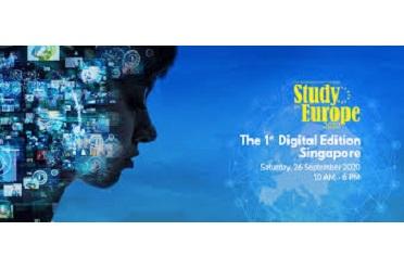 """""""STUDY IN EUROPE"""": PRIMA EDIZIONE DIGITALE DELLA FIERA A SINGAPORE"""