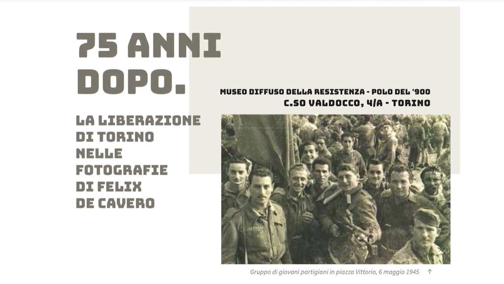 """""""75 anni dopo"""": il Polo del '900 di Torino riapre con gli scatti di Felix de Cavero"""