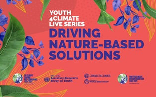 YOUTH FOR CLIMATE LIVE SERIES: LA NATURA AL CENTRO DELL'INCONTRO DI SETTEMBRE
