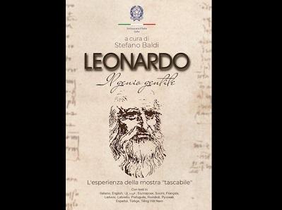 """""""LEONARDO. IL GENIO GENTILE"""" DALLA MOSTRA AL VOLUME CURATO DALL"""