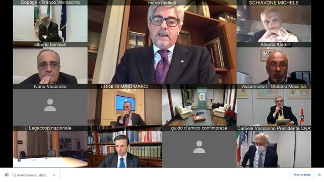 Mattioli (Confitarma) alla IX Cabina di regia per l'Italia Internazionale: tutela la competitività della nostra flotta