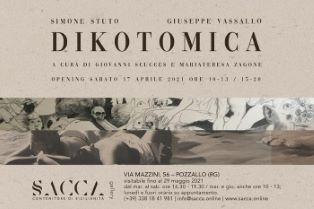 Dikotomica: a Pozzallo la mostra di Simone Stuto e Giuseppe Vassallo
