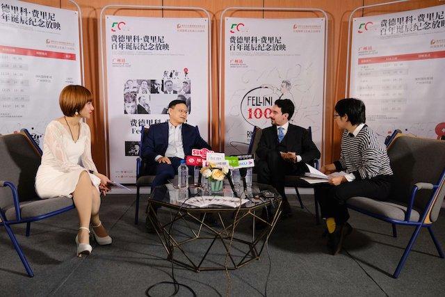 Guangzhou: inaugurata la retrospettiva su Fellini organizzata dal Consolato Generale