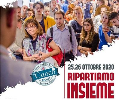 """""""RIPARTIAMO INSIEME"""": A BRUXELLES LA FESTA DEL CUOCO ORGANIZZATA DALL"""