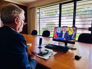 MESSICO: L'AMBASCIATORE DE CHIARA PRESENTA LE CREDENZIALI IN BELIZE