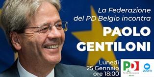 Gentiloni ospite del Pd belga
