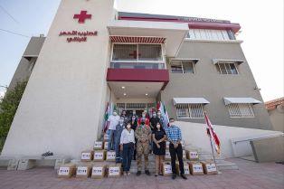 MISSIONE IN LIBANO: MILITARI DONANO CIBO A FAMIGLIE BISOGNOSE