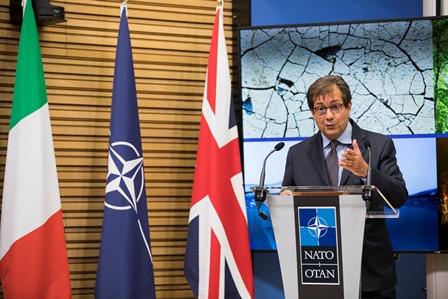 L'AMBASCIATORE FRANCESCO TALÒ ALLA NATO SU CLIMA E SICUREZZA GLOBALE