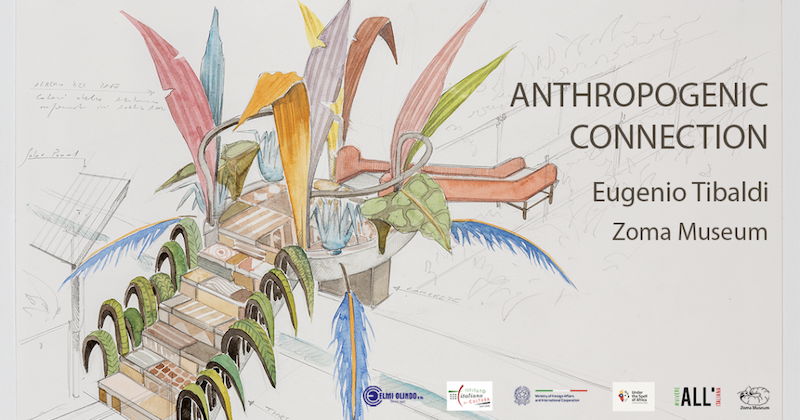 """Anthropogenic Connection"": il progetto di Eugenio Tibaldi al Museo Zuma di Addis Abeba"