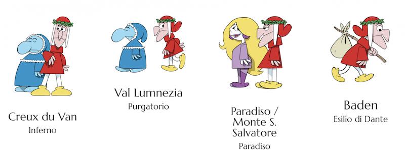 Il Dantedì in Svizzera parla quattro lingue