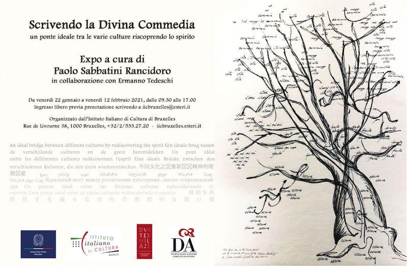 """""""Scrivendo la Divina Commedia"""" all'IIC di Bruxelles"""