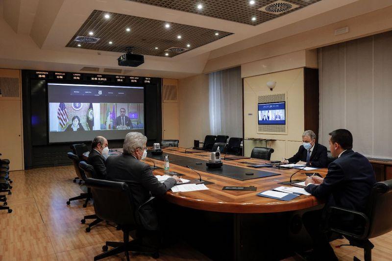 Incontro virtuale tra il ministro Di Maio e la rappresentante USA per il Commercio (USTR) Tai