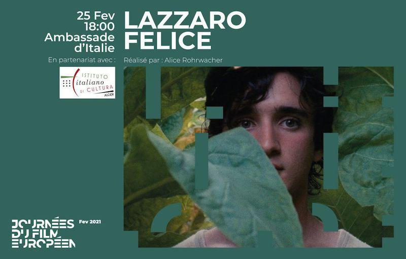 """""""Lazzaro Felice"""": il film di Alice Rohrwacher ad Algeri per la Giornata del cinema europeo"""