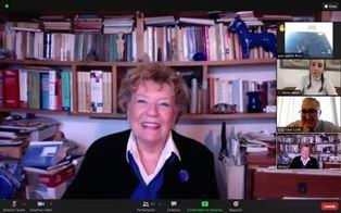 L'amicizia ai tempi della pandemia: gli alunni della Scuola italiana a Madrid a colloquio con Dacia Maraini