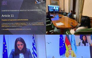 AZZOLINA ALLA RIUNIONE DEL CONSIGLIO DEI MINISTRI DELL'ISTRUZIONE DELL'UE