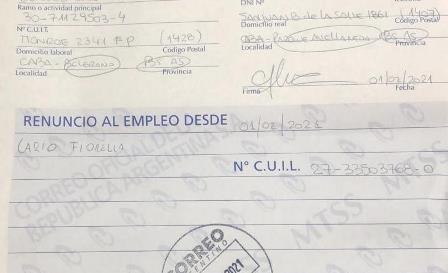Buenos Aires: Fiorella Cario rinuncia all'impiego in Consolato