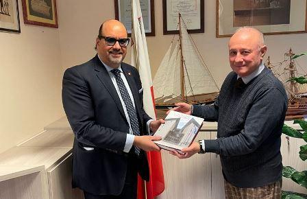 Carlin (Ucoi) incontra il console onorario di Malta a Venezia
