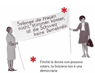 Il cantiere della democrazia e i diritti delle donne in Svizzera: la riflessione di Morena La Barba