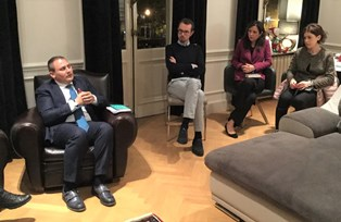 A BRUXELLES L'EVENTO CULTURALE ORGANIZZATO FRANCESCO PATAMIA (MAIE EUROPA)