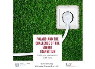 ITALIA-POLONIA: IL WORKSHOP SULLA COOPERAZIONE ENERGETICA PROMOSSO DALL'AMBASCIATA