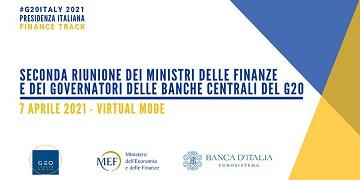 G20: il 7 aprile la seconda riunione dei Ministri delle Finanze e dei Governatori delle Banche Centrali