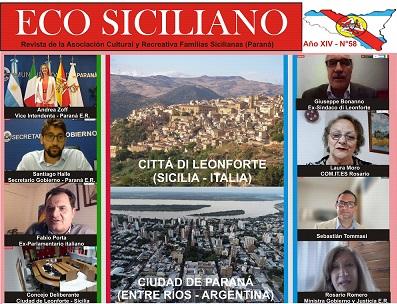 """Argentina: online il nuovo numero della rivista """"Eco Siciliano"""""""