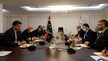 LIBIA: L'AMMIRAGLIO AGOSTINI (IRINI) HA INCONTRATO IL PRIMO MINISTRO AL-SARRAJ E ALTRI MINISTRI DEL GNA
