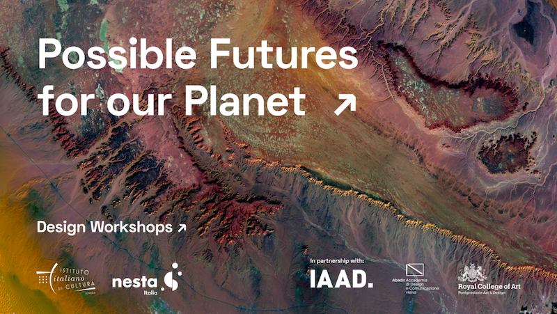 """Possibile Futures for our Planet"": da Londra laboratori online sui temi della sostenibilità per studenti di design"