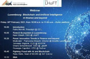 Blockchain e intelligenza artificiale nella finanza: il webinar della CCIL